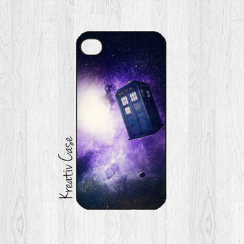 iPhone 5 case, iPhone 5S case - Doctor Who Police Box, Galaxy - K071