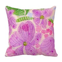 Garden Flowers pillow