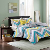 Elise Comforter Set in Blue