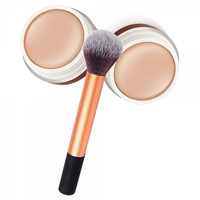 Face Makeup BB Concealer Cream With Blusher Brush Cosmetic Set