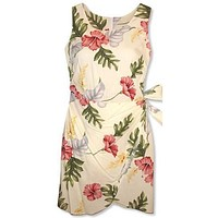 honeymoon hawaiian honi sarong dress