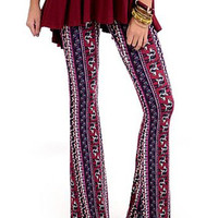 Lucky Duck Boho Bell Bottoms - (2 Colors)