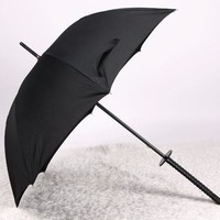 Black Samurai Sword Umbrella