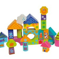 Boikido Wooden Building Blocks - 30 Pieces