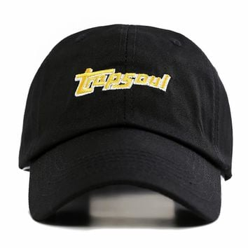 Trendy Winter Jacket American Rapper Bryson Tiller Hat Singer Latest Album Trapsoul Snapback Hip Hop Dad Hat Distressed Bone Women Men Baseball Cap AT_92_12