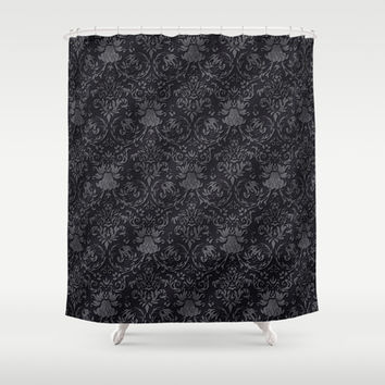 Victorian Pattern 3 Shower Curtain by pixel404