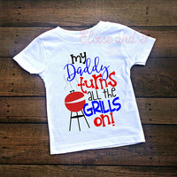 fathers day gift, fathers day shirt, fathers day baby outfit, dad shirt, grilling shirt, fathers day bodysuit, funny baby clothes,  bbq