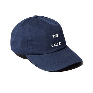 The Valley Embroidered Baseball cotton cap Hat