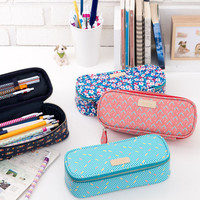 Ardium Colorful pattern block pencil case pouch