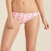 Women's Swimwear: Whale Watching Ring Side Bottoms – Vineyard Vines