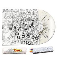LNOTGY Color-in Cover White w/ Black Splatter : HLR0 : MerchNOW - Your Favorite Band Merch, Music and More