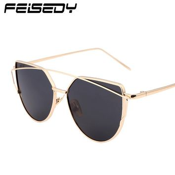 FEISEDY Fashion Vintage Sunglasses