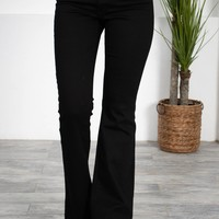 Hollywood Black Flared Denim