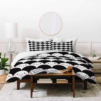 Elisabeth Fredriksson Happy Little Pebbles Duvet Cover