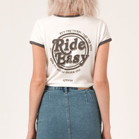 Afends Reasy - Standard Fit Ringer Tee