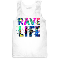 RAVE LIFE Summer Paint Party Tank!!!