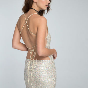 Hedi Dress in Angel Of The Morning Iced by Motel