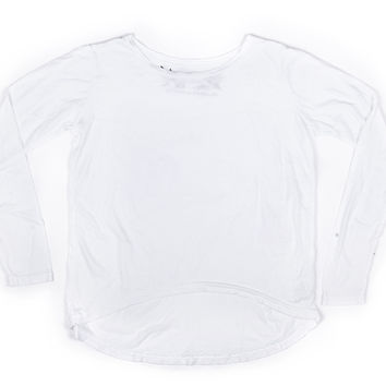 So Nikki Hilo Top White