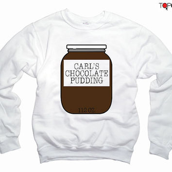 Carl Grimes Pudding Jar  TWD - The Walking Dead Sweatshirt