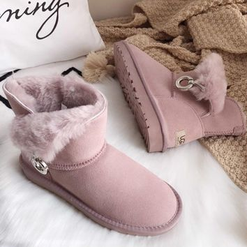 UGG Tasseled fashionable leisure snow boots