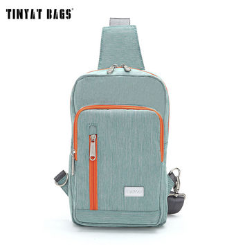 TINYAT Couple Style Large Men Women Waist Bag Functional Chest Bag Casual Sling Shoulder Bag travel Crossbody Bag unisex T601
