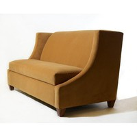 TLS by Design Tufted Leather Bench - Seating: Benches - Modenus Catalog