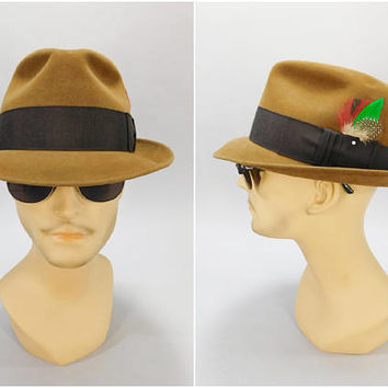 5f38aaa080d58 1960 s Vintage Fedora   Dobbs Fifth Avenue   Duncan s Men s Wear