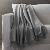 Lima Alpaca Grey Throw
