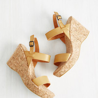 Strut to the Chase Wedge | Mod Retro Vintage Heels | ModCloth.com