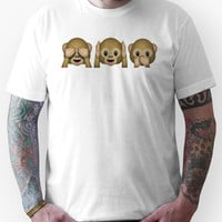See No Evil, Hear No Evil, Speak No Evil Unisex T-Shirt