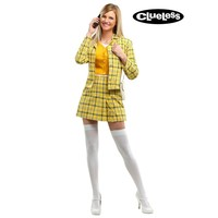 Checkered Clueless Women's Costume