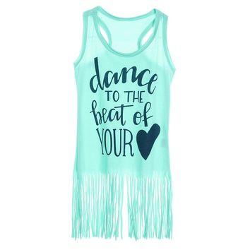 Dance To The Beat Of Your Heart - Girl Baby Kid Child Toddler Newborn Dress