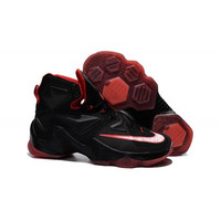 "Women's Nike Lebron 13 ""Black Red"""