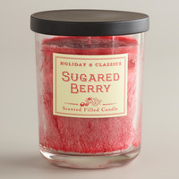 Sugared Berry Filled Jar Candle - World Market
