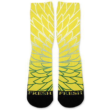 Wings 5 Custom Athletic Fresh Socks