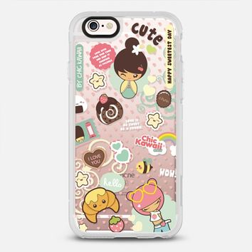 Cute Style By Chic Kawaii iPhone 6s case by Chic Kawaii | Casetify
