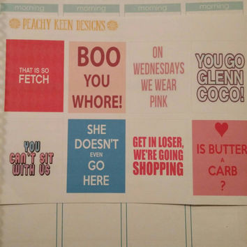 Mean Girls  stickers