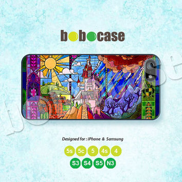 Disney, Sleeping Beauty, Castles, iPhone 5 case, iPhone 5C Case, iPhone 5S case, Phone Cover, iPhone 4 Case, iPhone 4S Case iPhone case 0599