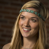 Shop Teal You Drop Fancy Headband