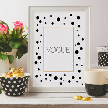Fashion print,Vogue Cover,More Issues Than Vogue Print,Fashion Print,Wall Art,Vogue Print,Bedroom Decor,Home Decor,Fashion Art,Wall decor
