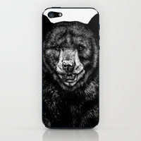 Bear iPhone & iPod Skin by Sebastian Gomez De La Torre | Society6