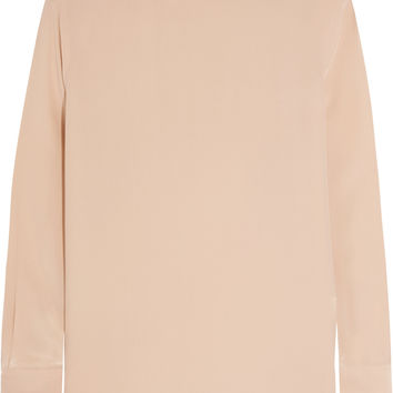 Equipment - Curtis washed-silk turtleneck blouse
