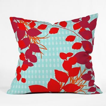Caroline Okun Petiole Throw Pillow