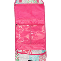 Simply Southern Travel Toiletry Bag - Stitch Pattern Pink
