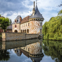 Chateau of Saint-Germain de Livet Art Print by Architect´s Eye | Society6