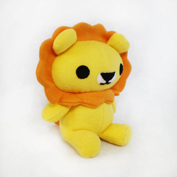 Lion Cat Stuffed Plush Toy Animal