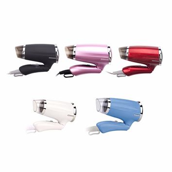 4Colors Foldable Hair Dryer Security Household High-power Hair Dryer ABS for Hotel Electric Blower EU Plug 1200W 220V 50Hz