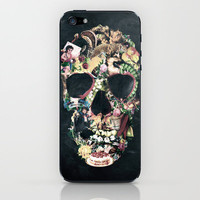 Vintage Skull iPhone & iPod Skin by Ali GULEC | Society6