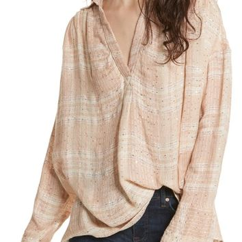 Free People Fearless Love Bell Sleeve Shirt | Nordstrom
