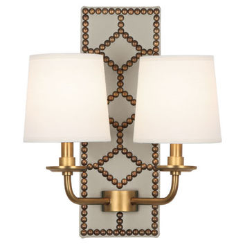Williamsburgh Lightfoot Wall Sconce | White